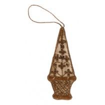 Декоративное украшения из ткани