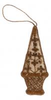 Ёлочное украшение - шпиль в стиле прованс
