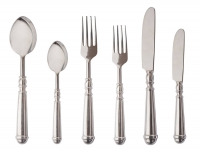 Набор из шести столовых предметов в стиле прованс