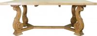 Стол из беленой хвои в стиле прованс