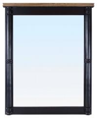 Зеркало в обрамлении (черное)