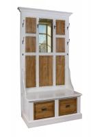 Шкаф для прихожей в стиле прованс