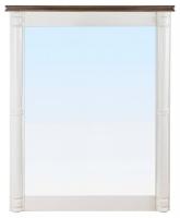 Зеркало в обрамлении (белое) в стиле прованс
