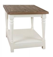Квадратный стол в стиле прованс