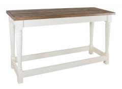 Пристенный стол из дуба
