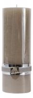 Свеча цилиндрическая декоративная в стиле прованс