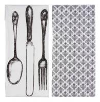 Полотенце для кухни (комплект из 2 штук) в стиле прованс