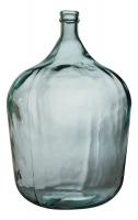 Стеклянная бутыль в стиле прованс