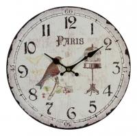 Часы светло-бежевые в стиле прованс
