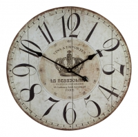 Настенные часы в стиле прованс