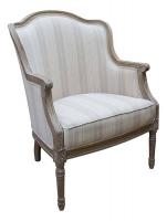 Кресло (белый дуб) в стиле прованс