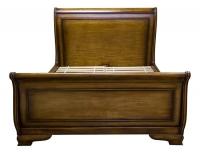 Кровать двуспальная (орех) в стиле прованс