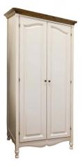 Шкаф для одежды (белый орех)