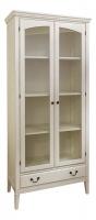 Книжный шкаф (белый) в стиле прованс