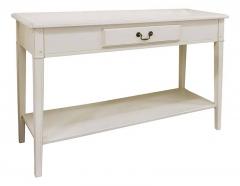 Белый стол в стиле прованс