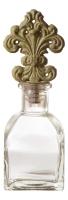 Флакон для ароматов с лилией в стиле прованс