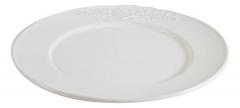Тарелка (белая керамика)
