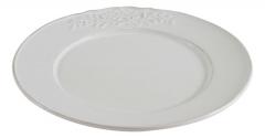Тарелка (керамика, белый цвет)