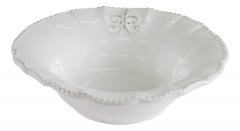Тарелка глубокая (белая)