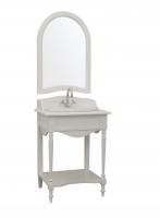 Умывальник с зеркалом в стиле прованс