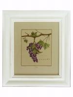Постер в раме Виноград в стиле прованс